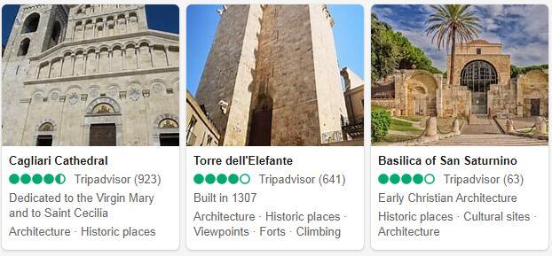 Cagliari Attractions