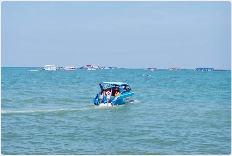 small, uninhabited islands around Pattaya