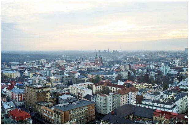 the city of Ostrava